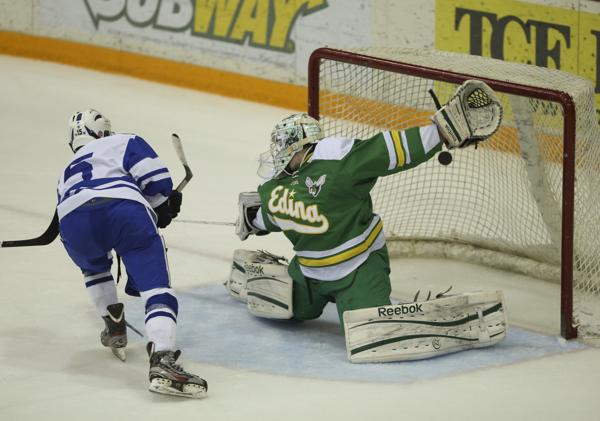 MN H.S.: Novak Nifty - Stings Edina On OT Breakaway