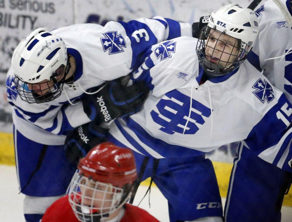 MN H.S.:1A Cadets Already Look Like 2A Power - Top Benilde 3-1